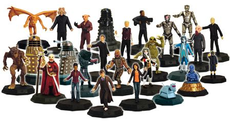 Preview of Doctor Who collectible miniatures