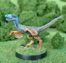 Gary Hunt Miniatures Feathered Raptor