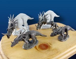 Primaeval Designs Styracosaurus herd
